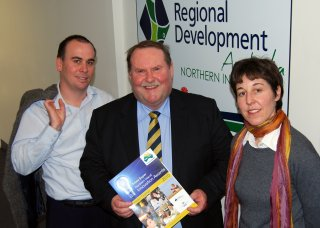 Regional Development Australia Northern Inland Executive Officer, Nathan Axelsson; Chairman, Mal Peters; and Project Officer, Kim-Trieste Hastings.