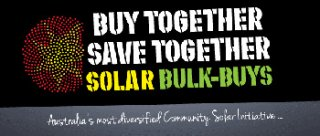 Buy Together Save Together Solar Bulk-Buys