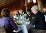 A gourmet lunch featuring local produce is part of the tour.
